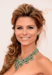 Maria Menounos on the red carpet at the 2013 Emmy Awards. (Photo credit: Jason Merritt/Getty Images)