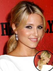 Glee star Dianna Agron at The Family premiere on September 10th in New York City