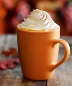 Pumpkin Spice Latte - image via http://www.starbucks.com
