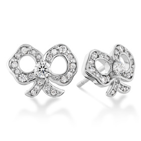 Hearts On Fire Lorelei Diamond Bow Earrings $2250