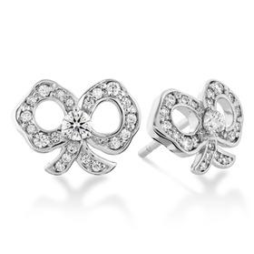 Hearts On Fire Lorelei Diamond Bow Earrings $2250