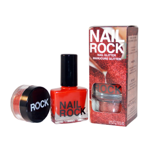 Nail Rock Glitter Manicure Kit