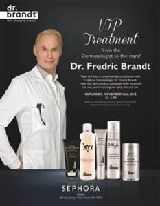 Dr. Brandt® Personal Skincare Consultation at Sephora