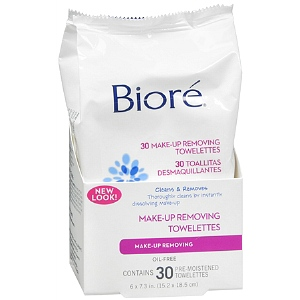 Bioré Daily Makeup Removing Towelettes