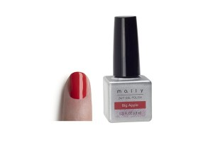 Mally Beauty 24/7 Gel Polish Nail Color. Color: Red Apple