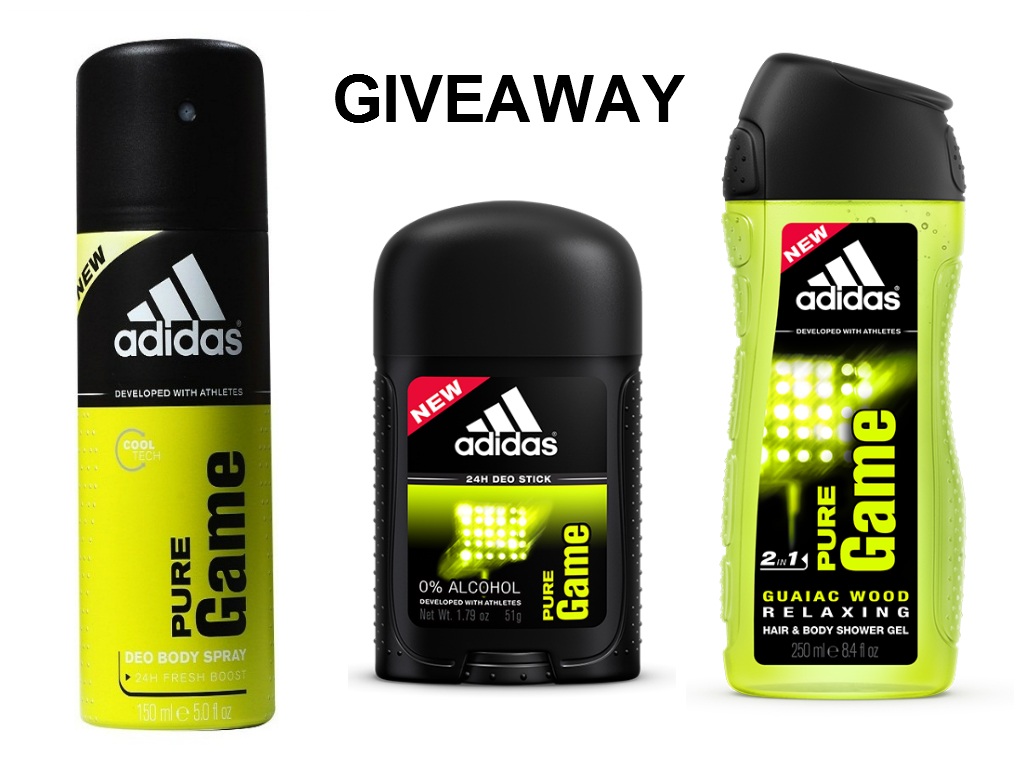 adidas giveaway giveaway adidas pure game collection my beauty source 1850