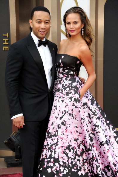 John Legend and Chrissy Teigen (Photo by Kevin Mazur/WireImage)