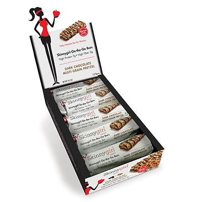 Dark Chocolate Multi-Grain Pretzel On the Go Bars