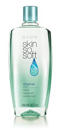 Avon Skin So Soft Bath Oil Spray