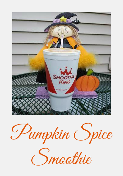 smoothie king pumpkin spice