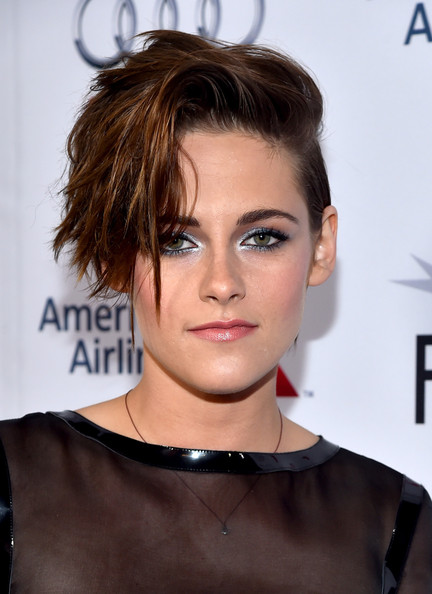 Kristen Stewart rocker hair