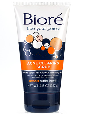 Bioré Acne Clearing Scrub